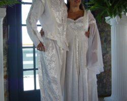 A Fairy tale wedding couple